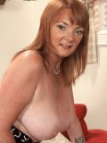 This mature slut has a nice and heavy rack that she loves to flaunt on camera