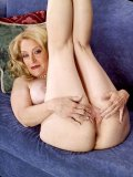 Hot mom strips and then enjoys the extreme fun of dildo in her cunt and ass hole.