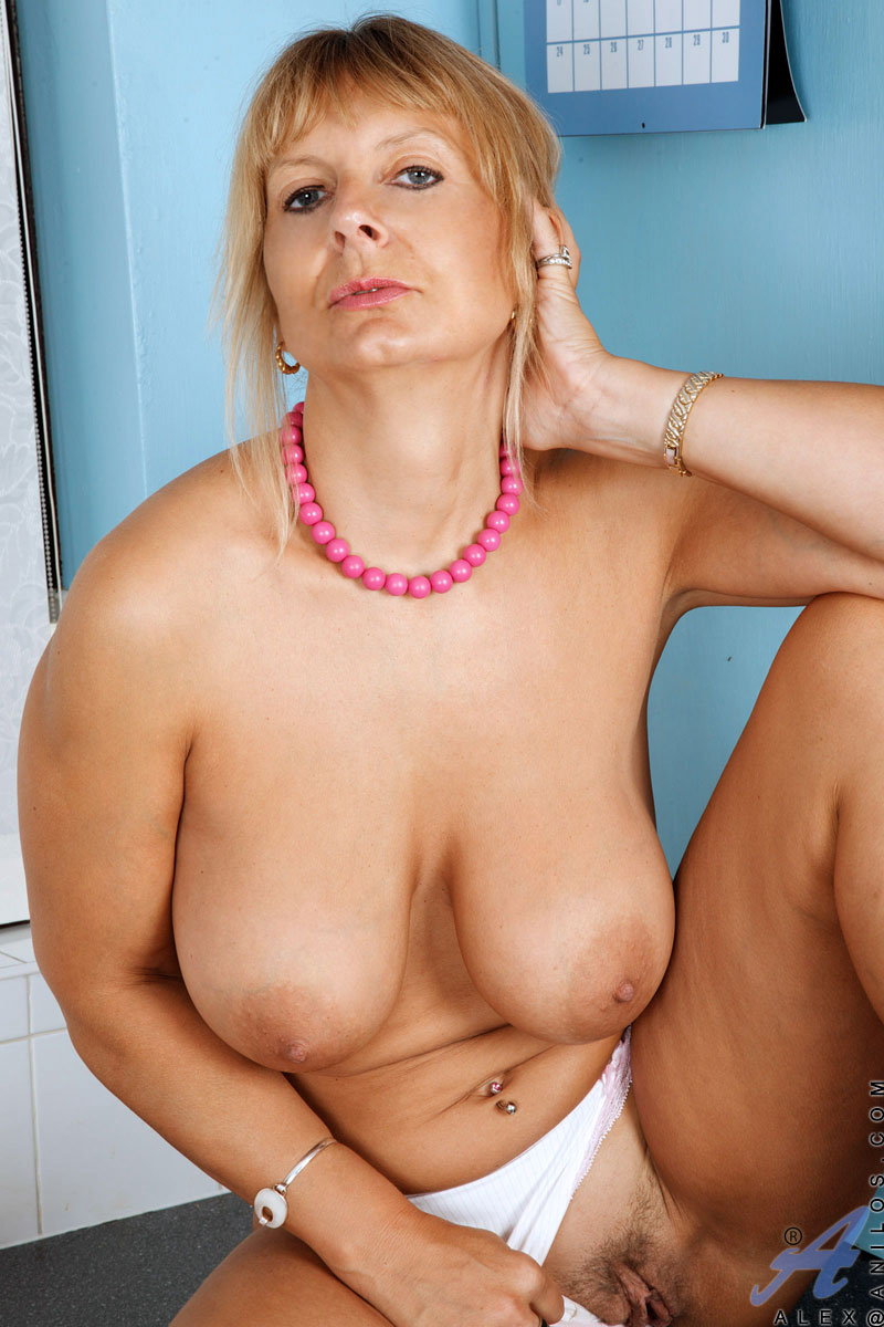 Beautiful busty naked moms