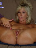Watch this crazy blonde chick insert all sorts of balls inside her craving pussy