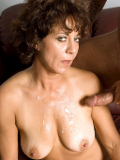 Alluring mature lady is fucked with hard phallus till she moans out in satisfaction!