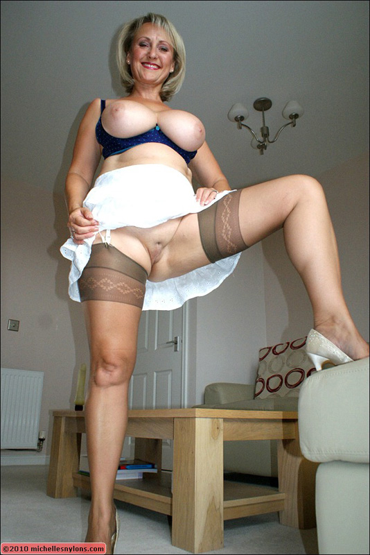 Michelle nylons panty related pics