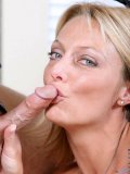 Inimitable blond oldie Brenda James gets thin yet rock-hard cock pushed into her