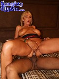 Amazing pictures of a blonde hottie getting screwed by a black guy and jizzed all over