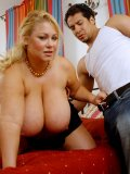 Chunky porn superstar Samantha 38G shows boobies and gets fucked and facialized