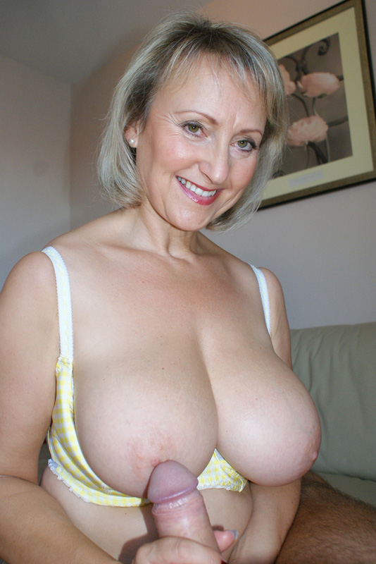 Blonde tits mature big