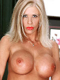 Mature porn star with unbelievably tight willowy bod and a killer set of titties