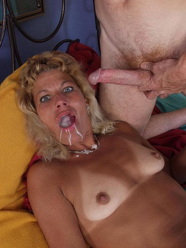 2 granny whores get filthy with cum 4